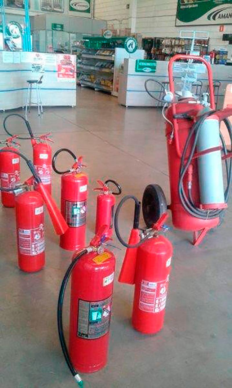 Extintores de incêndio em americana sp