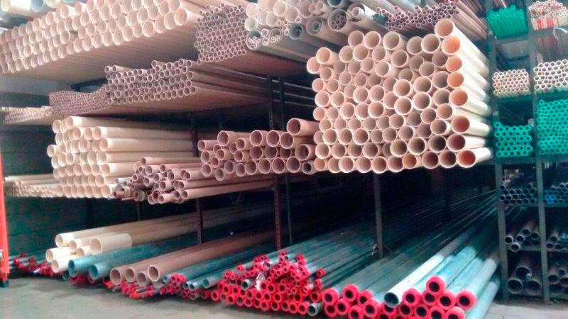Material hidráulico para construção