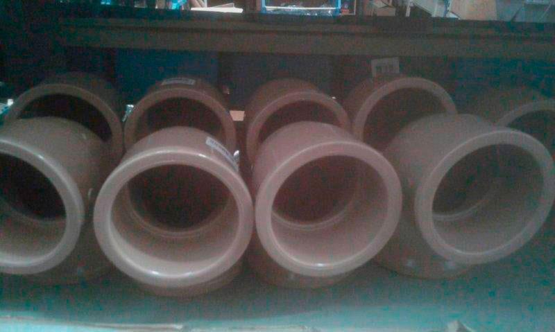 Tubo de pvc para instalação hidráulica